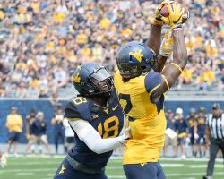 Search For Receiver Depth Continues At West Virginia