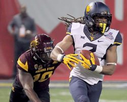 With Burst Back, Ka'Raun White Primed To Lead WVU Wide Receivers