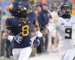 West Virginia's Receiving Corps Taking Hits