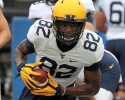 WVU's Wideouts Still Searching To Fill Roles