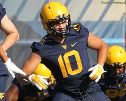 Gee Delivers Pep Talk To WVU