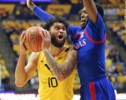 Photo Gallery II: West Virginia Mountaineers – Kansas Jayhawks