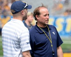 WVU Offensive Communication Fine, But Holgorsen Left With No One To Talk To