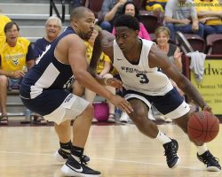 Staten Notches Winner in WVU Alumni Game
