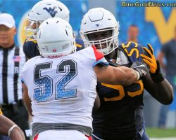 WVU's Yodny Cajuste Last In Line Of Cogdell Recruits