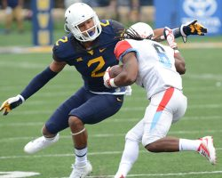 Kenny Robinson Finding Balance At Back End of WVU Defense