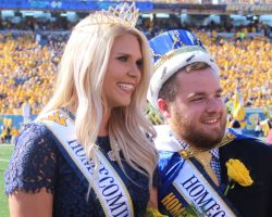 WVU names 2017 Homecoming King, Queen During Saturday's game