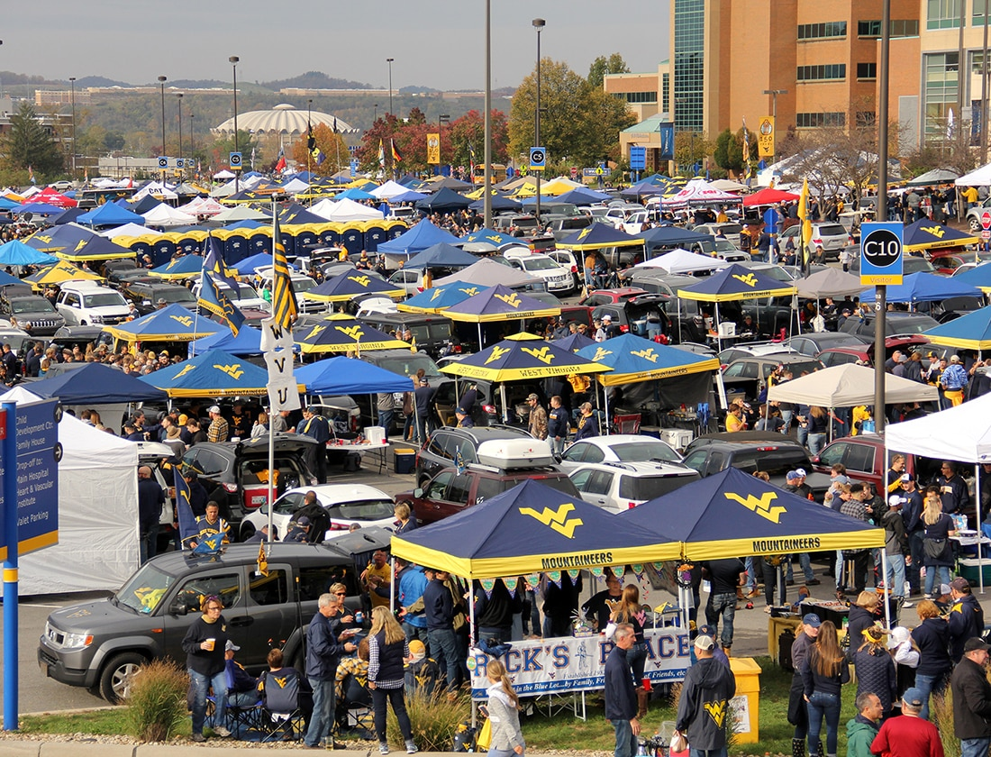 Steve White Vw >> Photo Gallery: From The Blue Lot – WVU | West Virginia ...