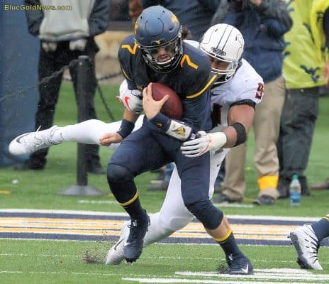 WVU holds on for 20-16 win over No. 15 Iowa State