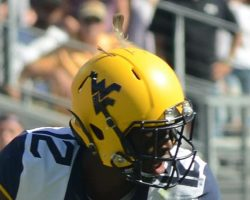 WVU's Jennings Stuck A Feather In His Cap And Called It Good Luck