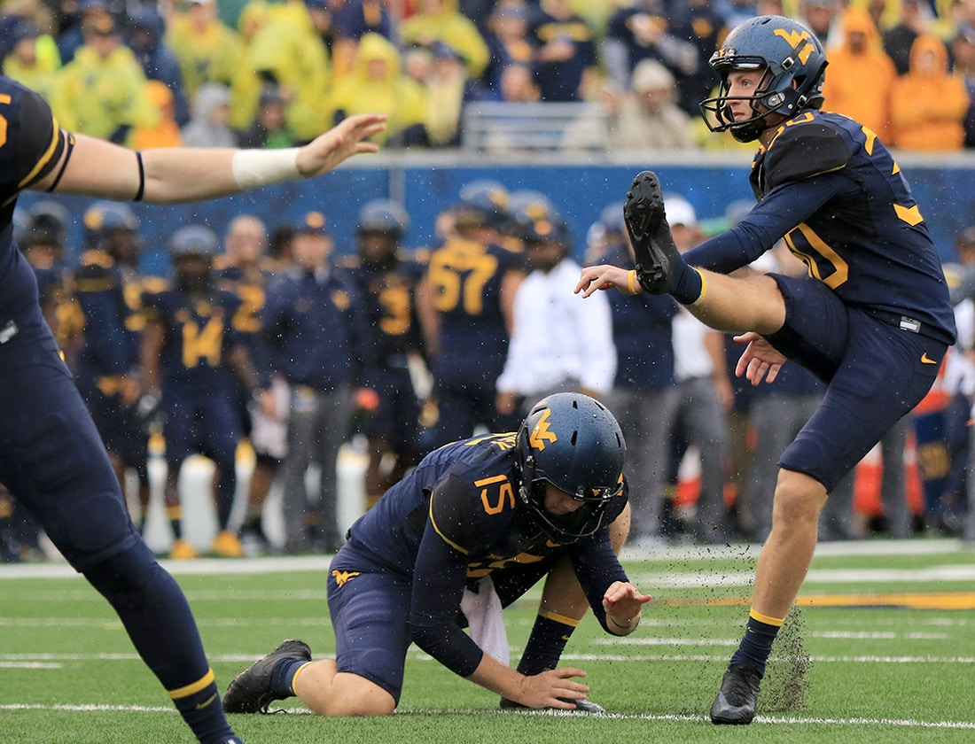 Wvu S Projected Football Depth Chart Specialists Wvu West Virginia Mountaineers Sports Coverage Blue Gold News