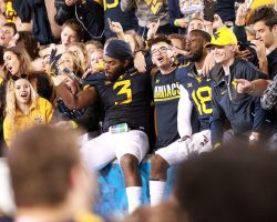 WVU Photo Gallery: Faces In The Crowd