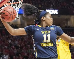 Muldrow Steps Into Void; Leads WVU Women