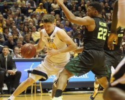 No. 2 Mountaineers Hold On For Victory Over Baylor