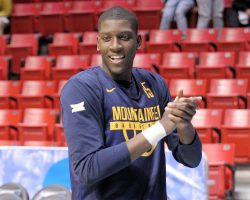 WVU's Lamont West Healthy, Ready for Leadership Role