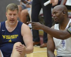 Some Things Familiar, Some Things Not In WVU Alumni Basketball Game