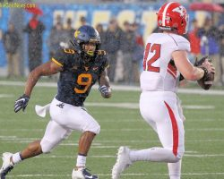 However Your Spell It, Stewart Helps Lead WVU's D