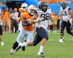 WVU Offense Wins With Some Old School Looks