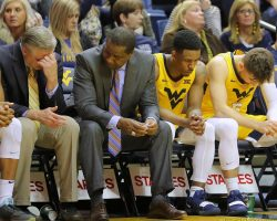 Tipping Point For WVU, Huggins
