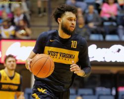 Learning The Ropes: Haley, McCabe Working to Find The Groove at Point For WVU