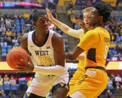 WVU's West Gets Boost From Mom's Presence