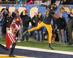 WVU's Sills Will Play In Bowl Game; Discusses Crucial Penalties