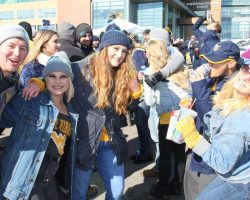 WVU Fans Choose A Wide Variety Of Game Day Beverages Saturday