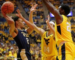 Can Huggins, WVU Keep Intensity Lit?