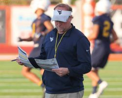 WVU's Holgorsen Upbeat As Bowl Preparation Opens in Orlando