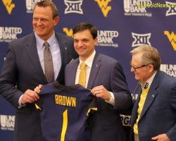 Photo Gallery: WVU Head Coach Neal Brown Press Conference