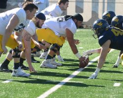Brown Pleased With WVU's Practice Effort On Tuesday