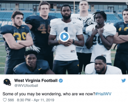 "WATCH – WVU Football: ""Who Are We Now?"""