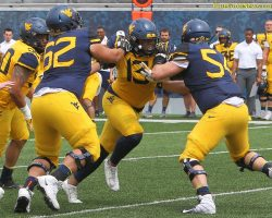 Photo Gallery II: West Virginia Mountaineers 2019 Gold-Blue Game