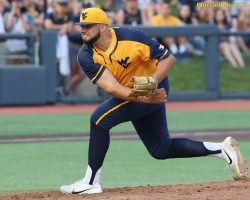 Manoah Picked 11th, Ties Top Slot Ever For A WVU Player