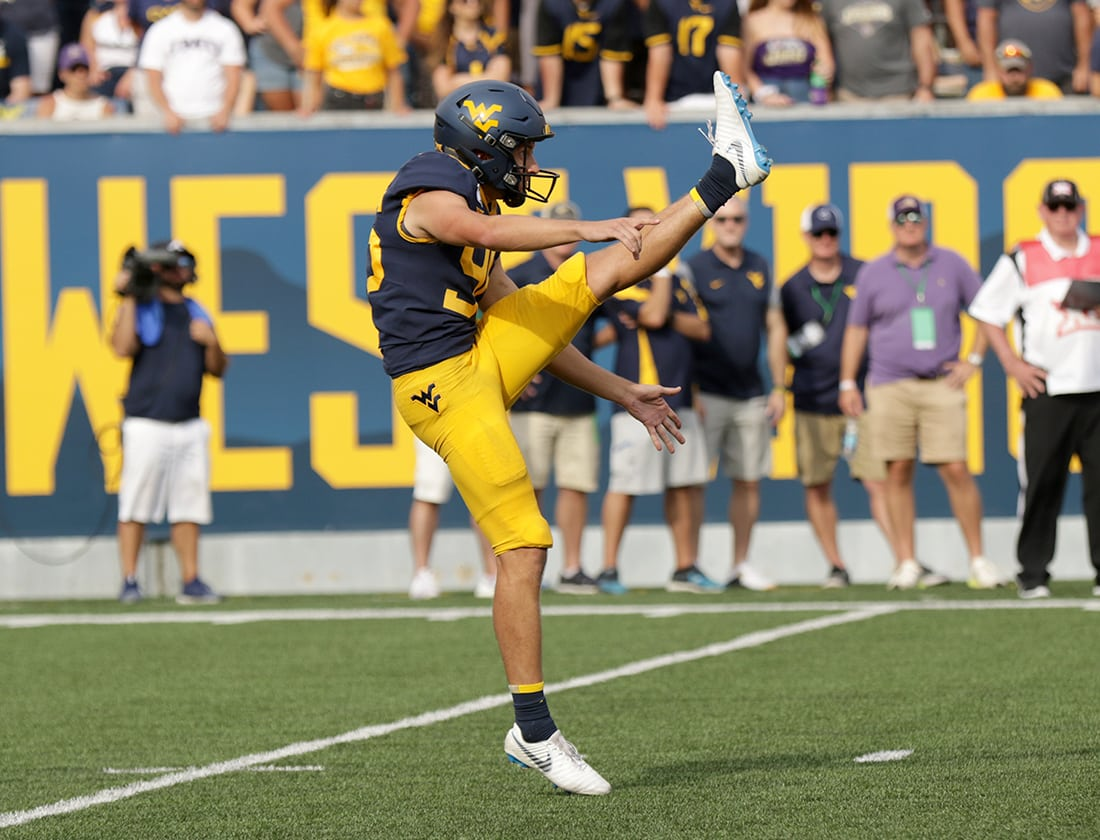 sports shoes 14272 ababf Growden Adds Twist To WVU Special Teams – WVU   West ...
