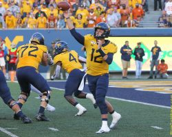 WVU Mistakes Pave Way For Texas Win