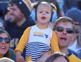 West Virginia fans keep up support of their team