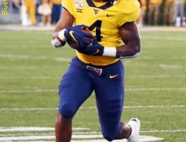 West Virginia running back Leddie Brown finds running room against Texas