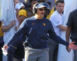 WVU's Kendall 'Questionable' For Oklahoma; Will Throw Today