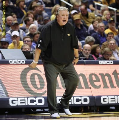 West Virginia head coach Bob Huggins pleads for consistency in officiating