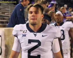 Doege Leads WVU To Victory In His First Start As A Mountaineer