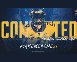 WVU Receives Commitment For Class of 2021